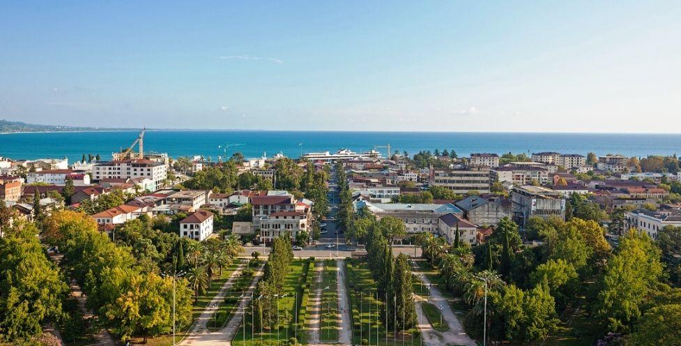 столица Абхазии Сухум
