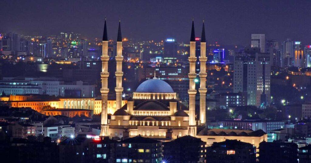 Мечеть Коджатепе в Анкаре