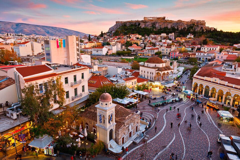 Афины столица Греции