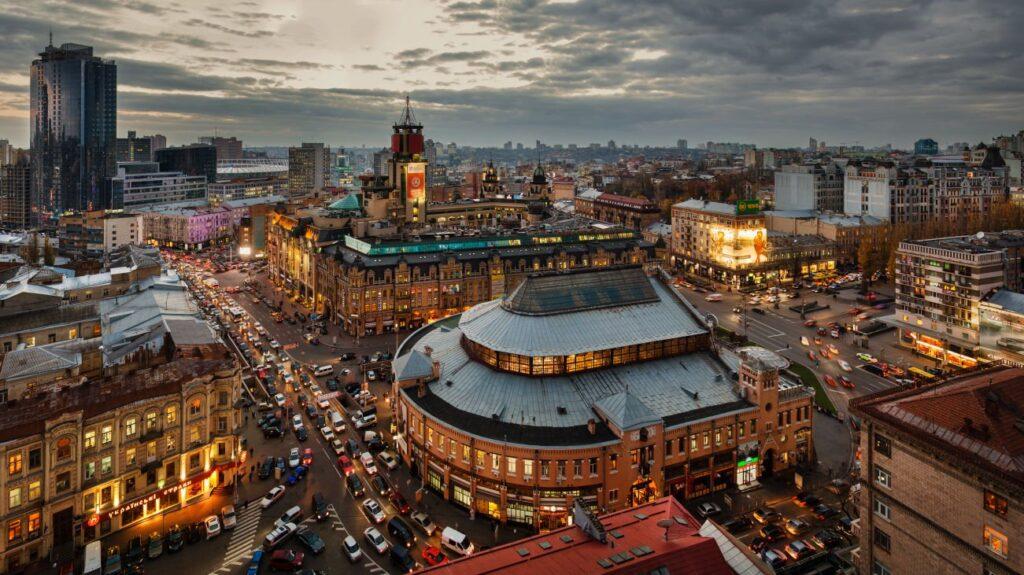 Бессарабская площадь в Киеве