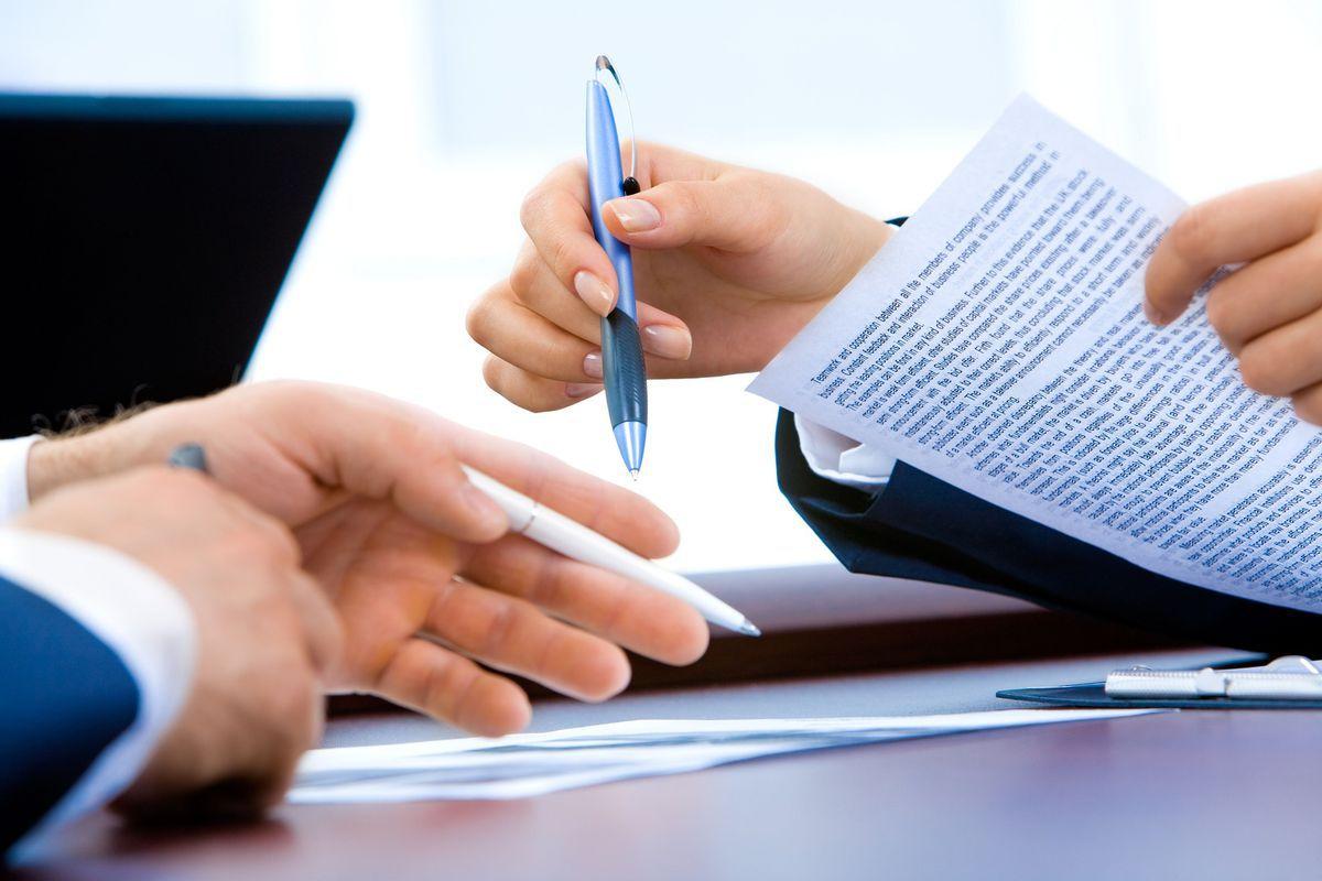 Документы и ручки