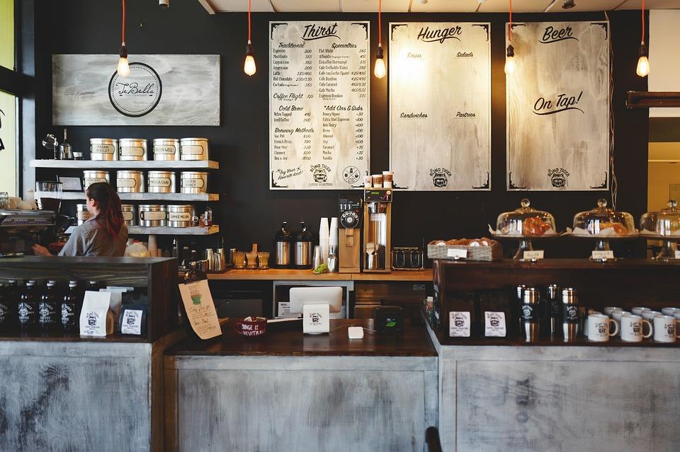 Фотография зала кафе