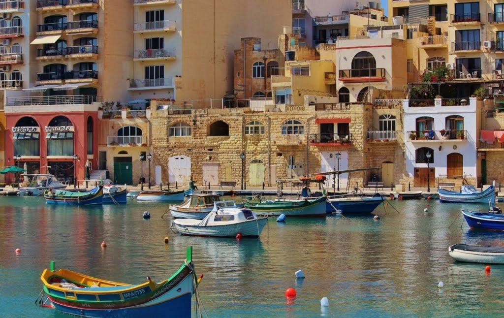Пристань в Мальте